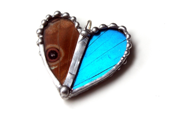 blue morpho heart front back4